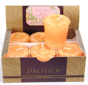 Pacifica Set of Six Votives-Nerola Orange Blossom