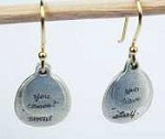 Jeanine Payer Bernadette sterling silver earrings