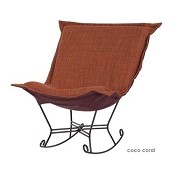 Ctc Linenfold Puff Chair Replacement Cover No Cushion Coco