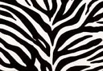 Chicago Textile Puff Rocker-Zebra