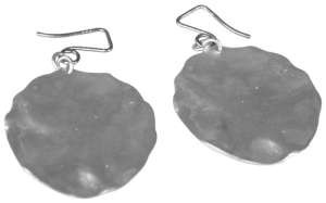 Saundra Messinger Large Lilypad Earrings