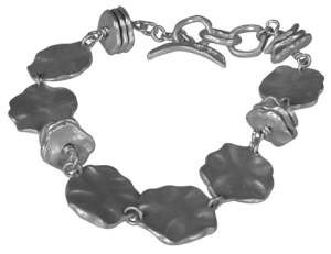 Saundra Messinger Small & Medium Lilypad Bracelet