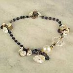 Susan Goodwin Petal Pearls and Quartz Bracelet