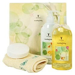 Thymes Sweetleaf Baby Luxurious Baby Gift Set
