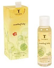 Thymes Sweetleaf Baby Massage Oil