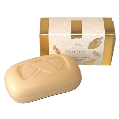 Thymes Goldleaf Large Soap Bar