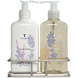 Thymes Lavender Sink Set