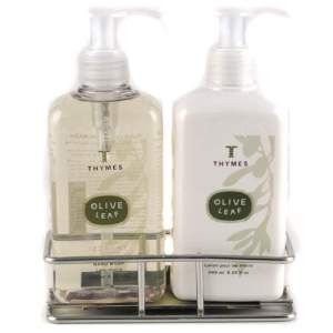 Thymes Olive Leaf Sink Set