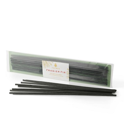 Thymes Frasier Fir Diffuser Sticks-Green