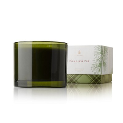 Thymes Frasier Fir Three-Wick Candle