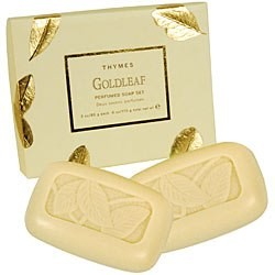 Thymes Goldleaf Two-Soap Set