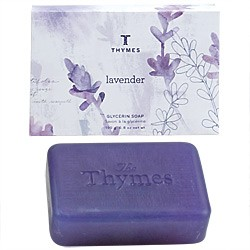 Thymes Lavender Glycerine Large Soap