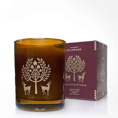 Thymes Wildwood Magnolia Fig & Vetiver Candle