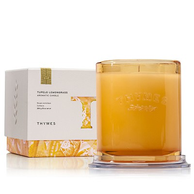 Thymes Tupelo Lemongrass Candle