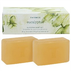 Thymes Eucalyptus Two-Soap Set