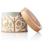 Thymes Wildwood Bitter Orange & Cedar Candle Tin