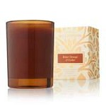 Thymes Wildwood Bitter Orange & Cedar Votive Candle