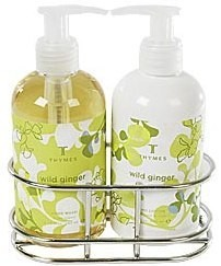 Thymes Wild Ginger Sink Set with Caddy