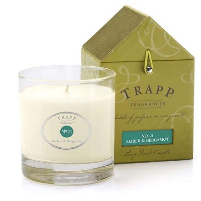 Trapp Candles No 21-Amber & Bergamot- 7 Oz Poured Candle