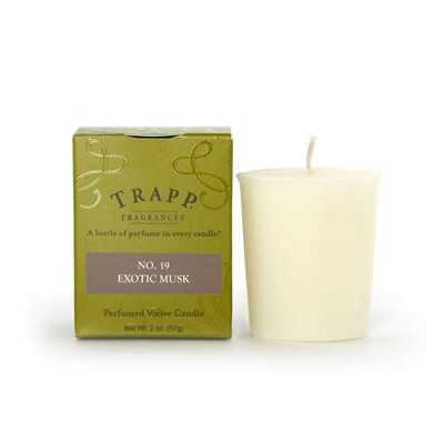 Trapp Candles No 19-Exotic Musk Votive