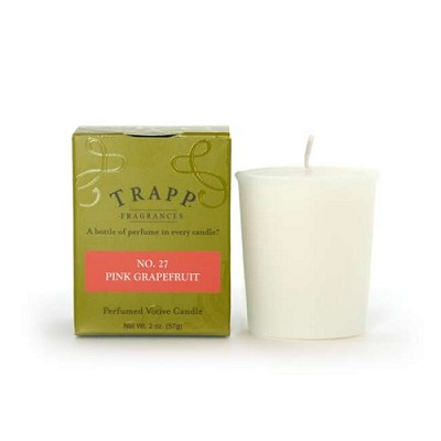 Trapp No. 27 Pink Grapefruit Votive