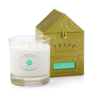 Trapp Candles No 64-White Lotus & Lychee- 7 Oz Poured Candle