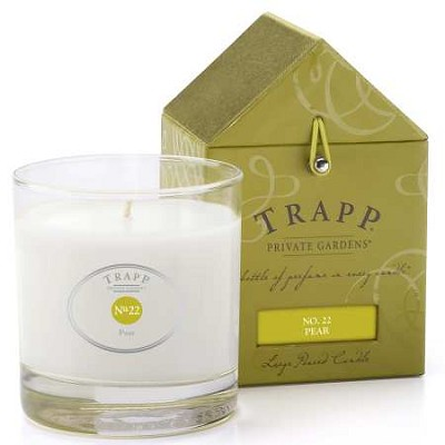 Trapp No. 22 Pear Candle