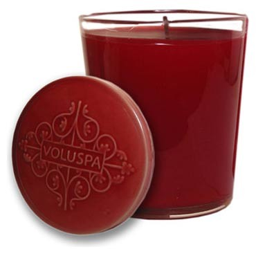 Voluspa 10 oz Candle with Ceramic Lid-Mignonette