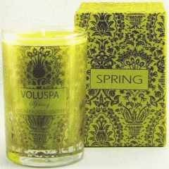 Voluspa Mini Candle-Spring (Limoni Frosted Biscotti)