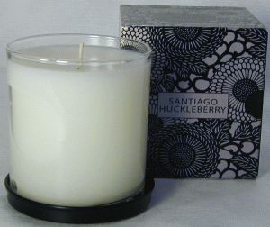 Voluspa Candles-Santiago Huckleberry