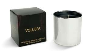 Voluspa 5oz Candle-Makassar Ebony Peach