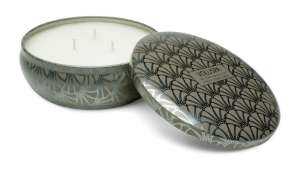 Voluspa Three-wick Tin-Frost Pinecone