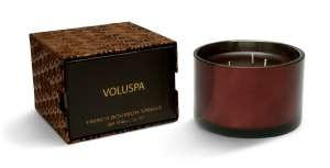 Voluspa Three-wick Candle-French Bourbon Vanille