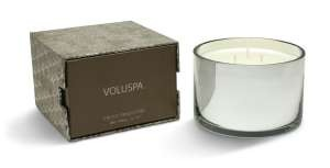 Voluspa Three-wick Candle-Frost Pinecone