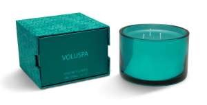 Voluspa Three-wick Candle-Snowflakes