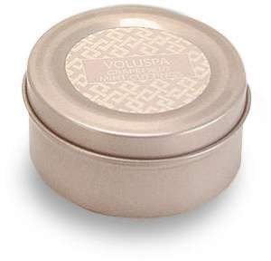 Voluspa Basics Travel Candle Tin - Grapefruit Mint Cuttings