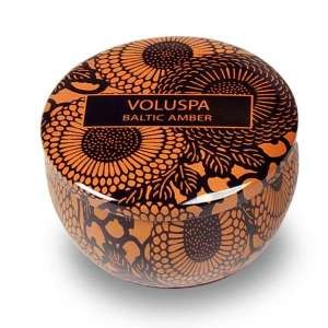 Voluspa Travel Candle Tin - Baltic Amber