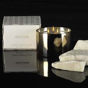 Voluspa 3-Wick Candles-Truffle White Cocoa