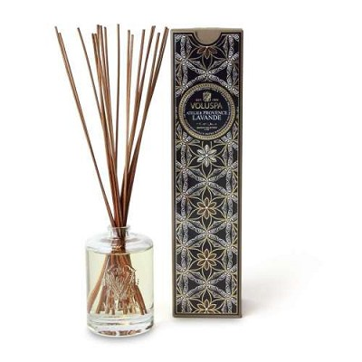 Voluspa Provence lavande diffuser in embossed glass