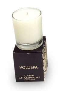 Voluspa Basics Votives-Crisp Champagne