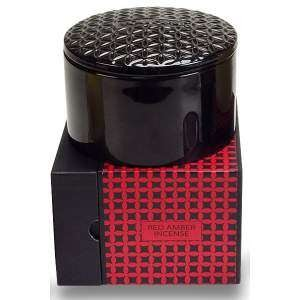 Voluspa Basics Three Wick Candle-Red Amber Incense