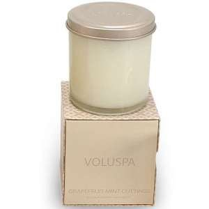 Voluspa Basics Candles-Grapefruit Mint Cuttings