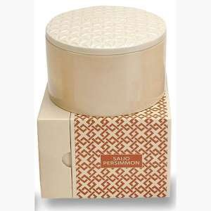 Voluspa Basics Three Wick Candle-Saijo Persimmon