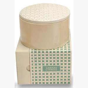 Voluspa Basics Three Wick Candle-Sawara Cypress