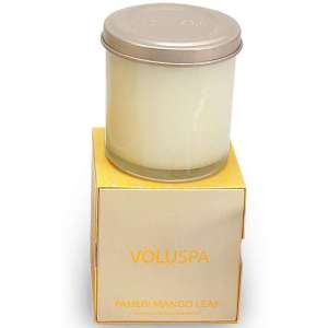 Voluspa Basics Candles-Paheri Mango Leaf