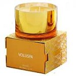 Voluspa 3-Wick Color Metallic Candle-Velvet Box - Soleil