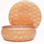 Voluspa 3 Wick-Tin Dahlia Orange Bloom