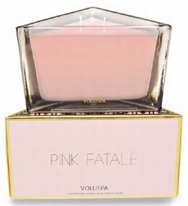 Voluspa two-wick perfume candle-Pink Fatale