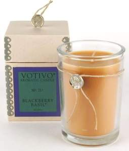 Votivo candle-Blackberry Basil