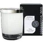 Votivo White Ocean Sands Color Candle